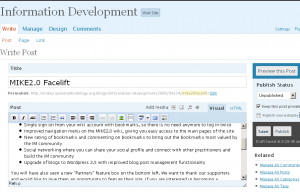 Wordpress Editor 2.5
